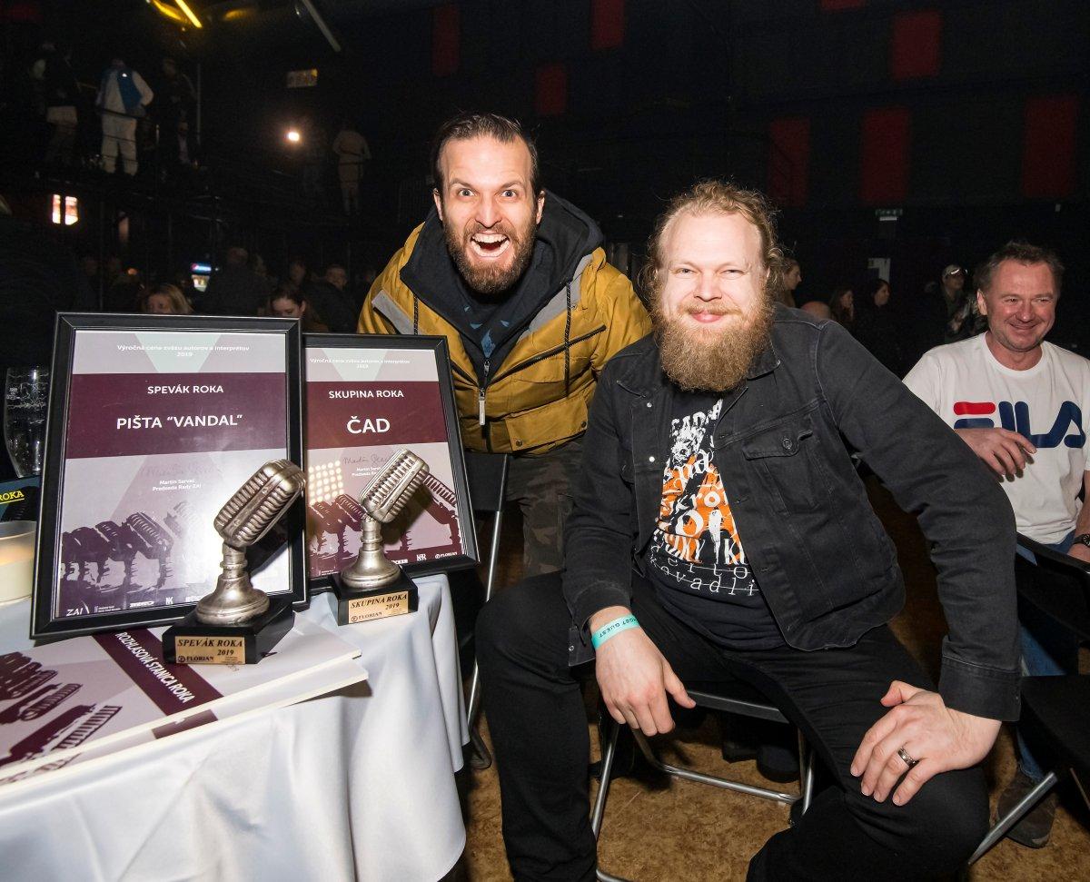 Pišta Vandal, Roman Bomboš, Tammy Nižňaská a festival Grape si odniesli výročné ceny ZAI za rok 2019