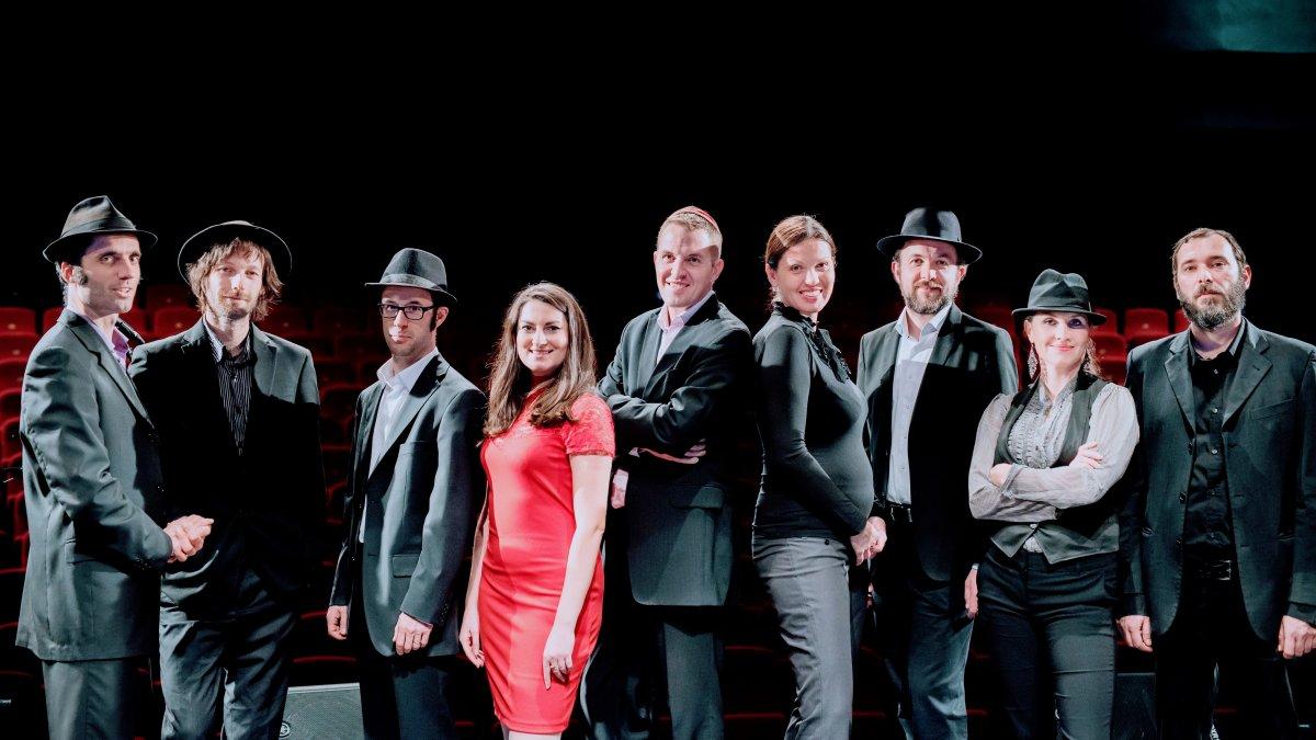 Preßburger Klezmer Band koncertne predstaví prvé LP vo Véčku