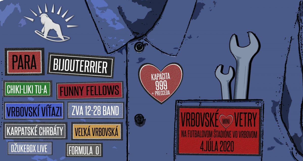 Prvým letným festivalom po korona-kríze budú Vŕbovské vetry 2020