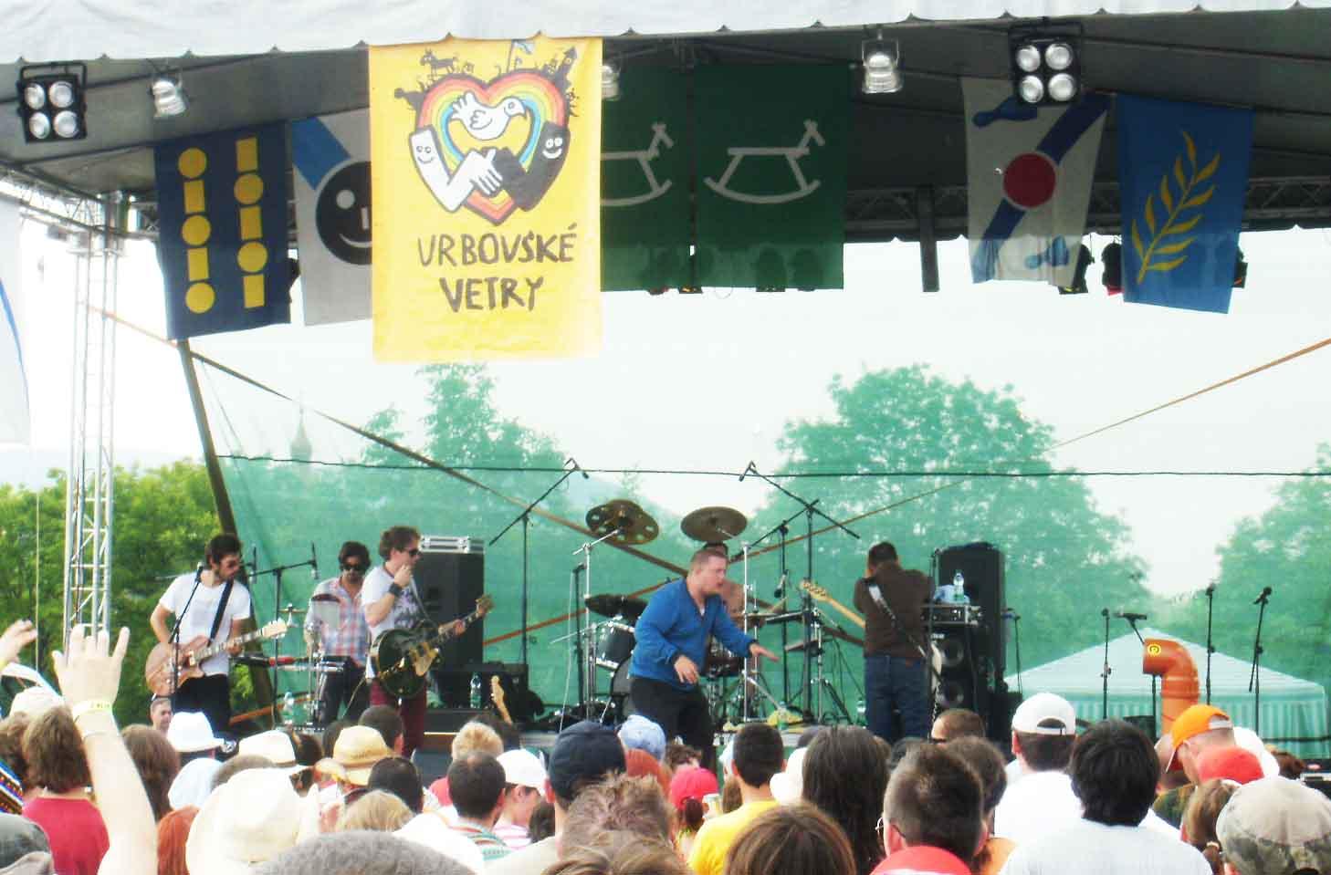 Na Vrbovských Vetroch zahrá aj Mňága a Žďorp, David Koller a Para
