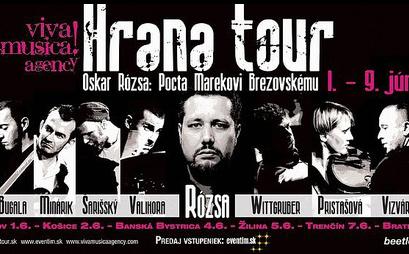 Oskar Rósza a projekt Hrana vzdajú poctu Marekovi Brezovskému