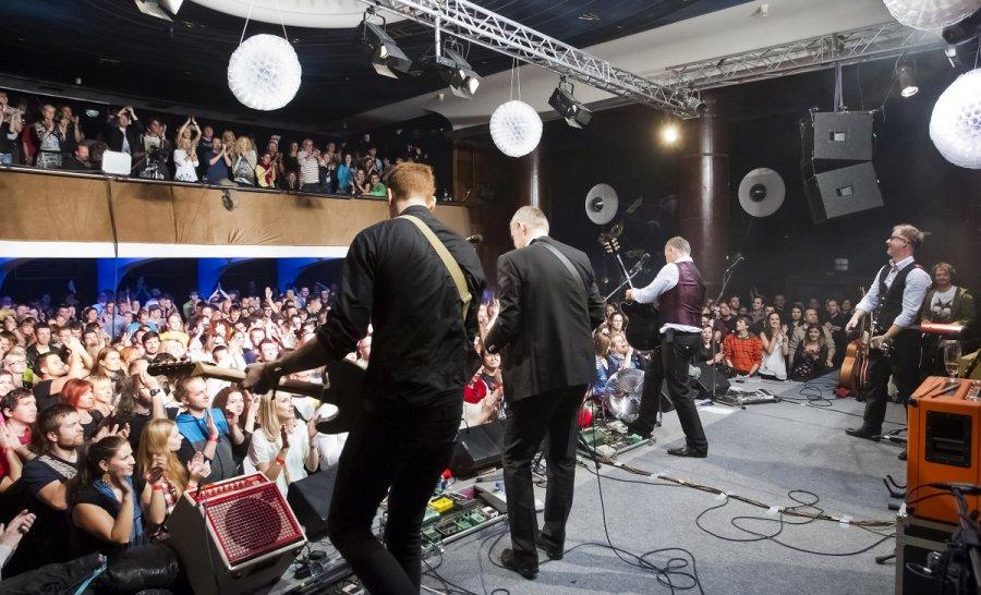 Krst výberovky kapely Hex  / Foto: René Miko /