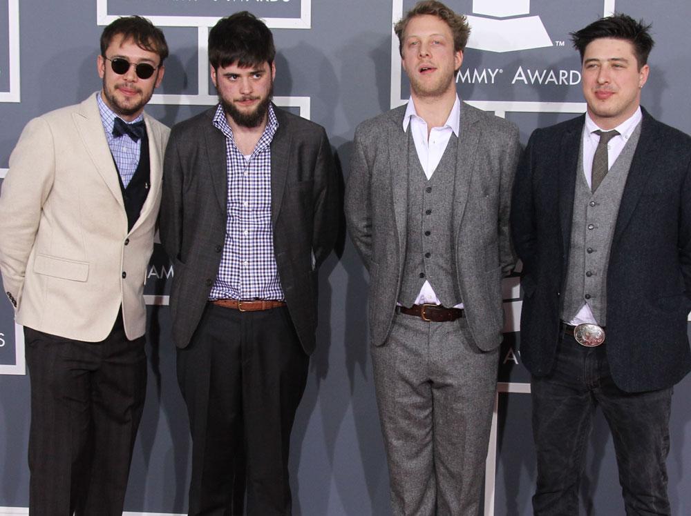 Album roka podľa Grammy Awards pre Mumford & Sons