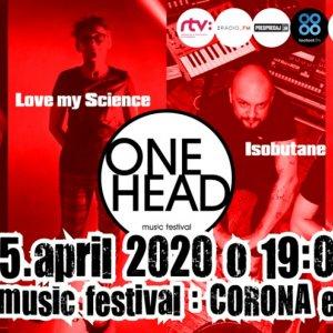 Unikátny live stream festivalu ONE HEAD už 15. apríla zKlubu pod Lampou