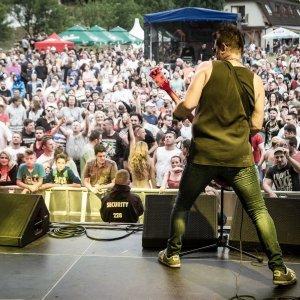 Ján Kuric z kapely Vidiek sa teší na atmosféru festivalu Žákovic Open