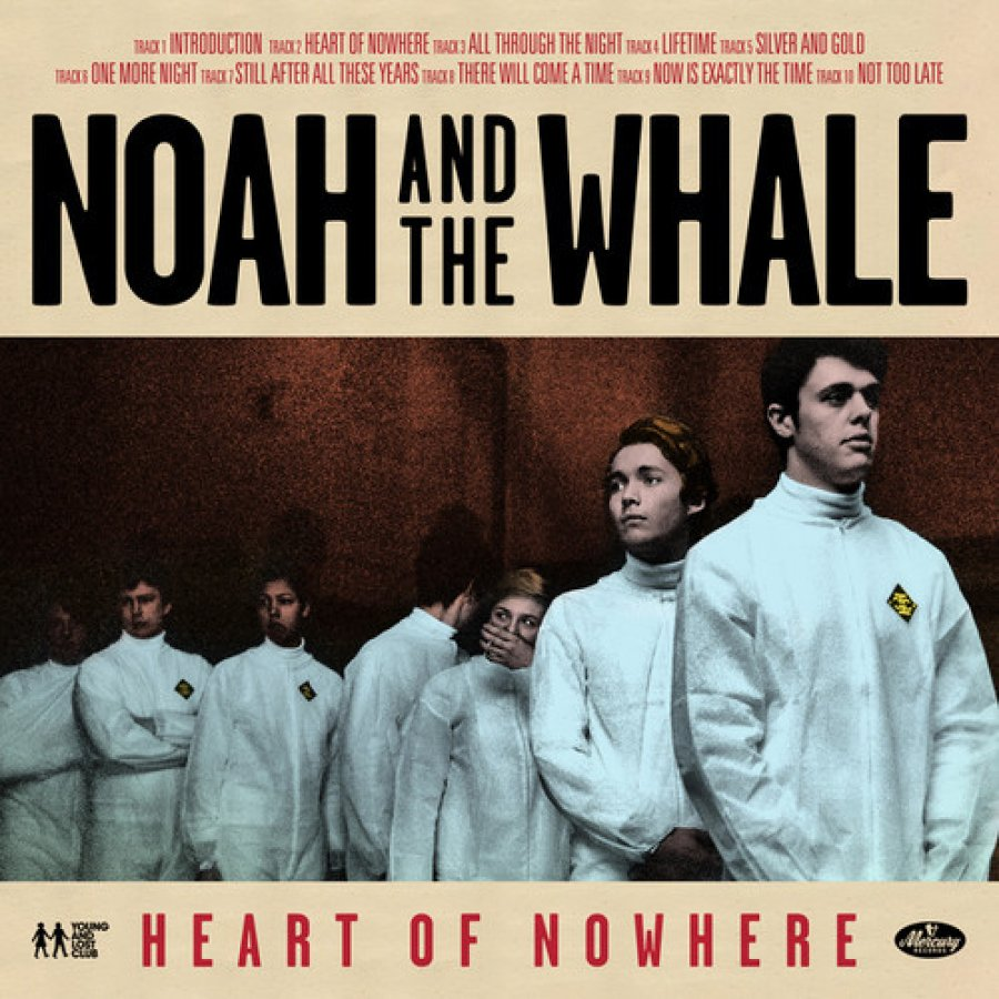 "Noah And The Whale nahrali skladbu s Annou Calvi ""Heart Of Nowhere"""