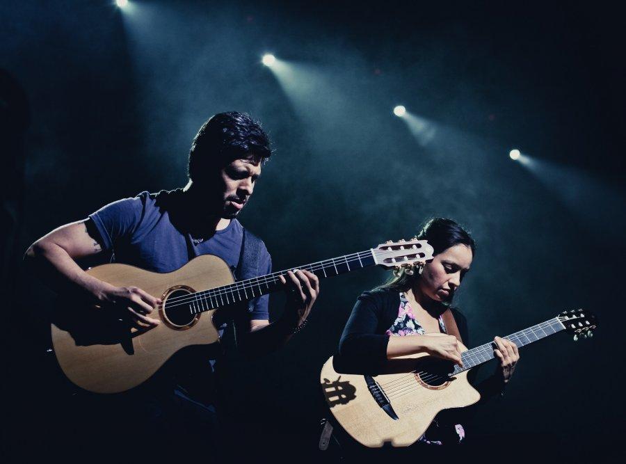 Gitarové duo Rodrigo y Gabriela z Mexika na Pohode 2017