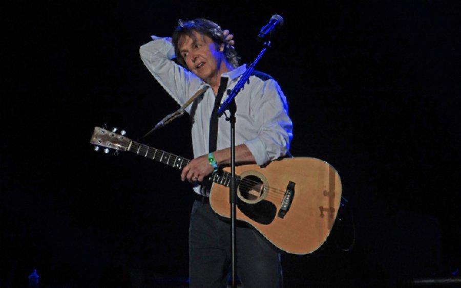 Paul McCartney vystúpil v Seattli s členmi kapely Nirvana