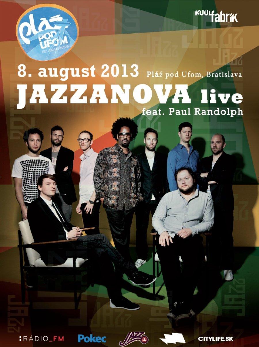 Na vyhriatej Pláži pod Ufom v Bratislave sa predstaví skupina Jazzanova