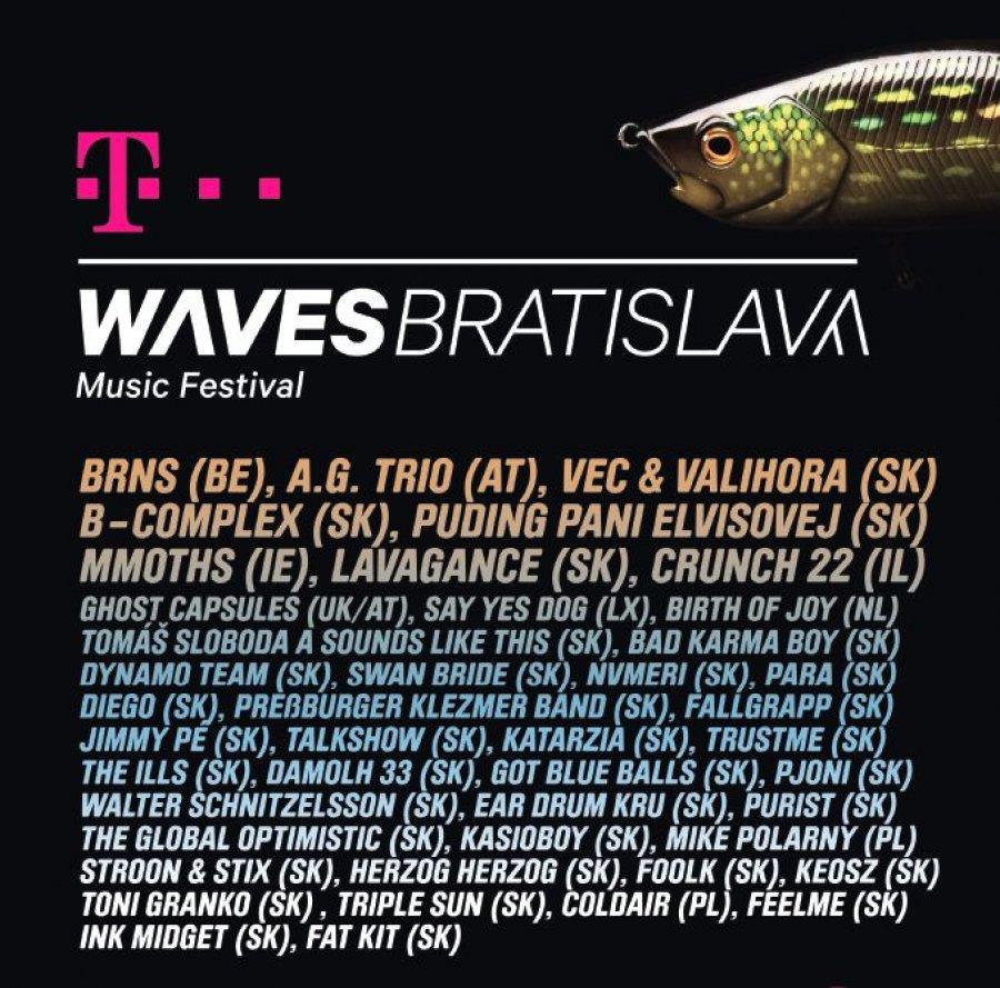 Hudobný festival Waves Vienna sa na jeden deň rozrastie aj o Bratislavu