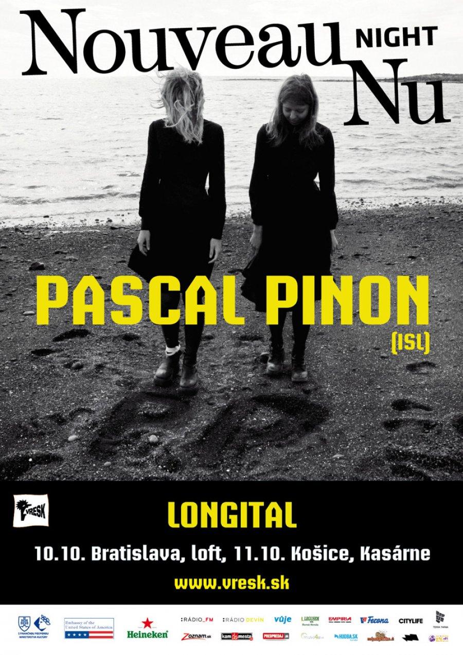 Predskokanom islandských dvojičiek Pascal Pinon bude v Bratislave duo Longital