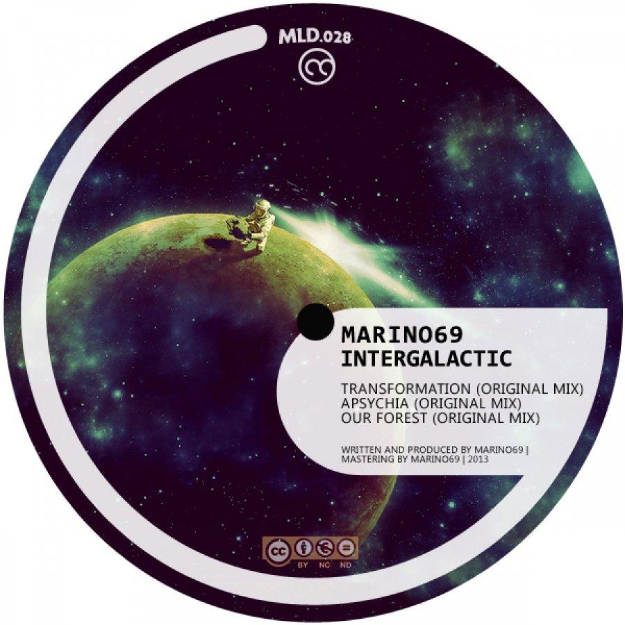 Intergalactic od Marino69 a v poradí 28. release uvoľnený na Melodica Netlabel
