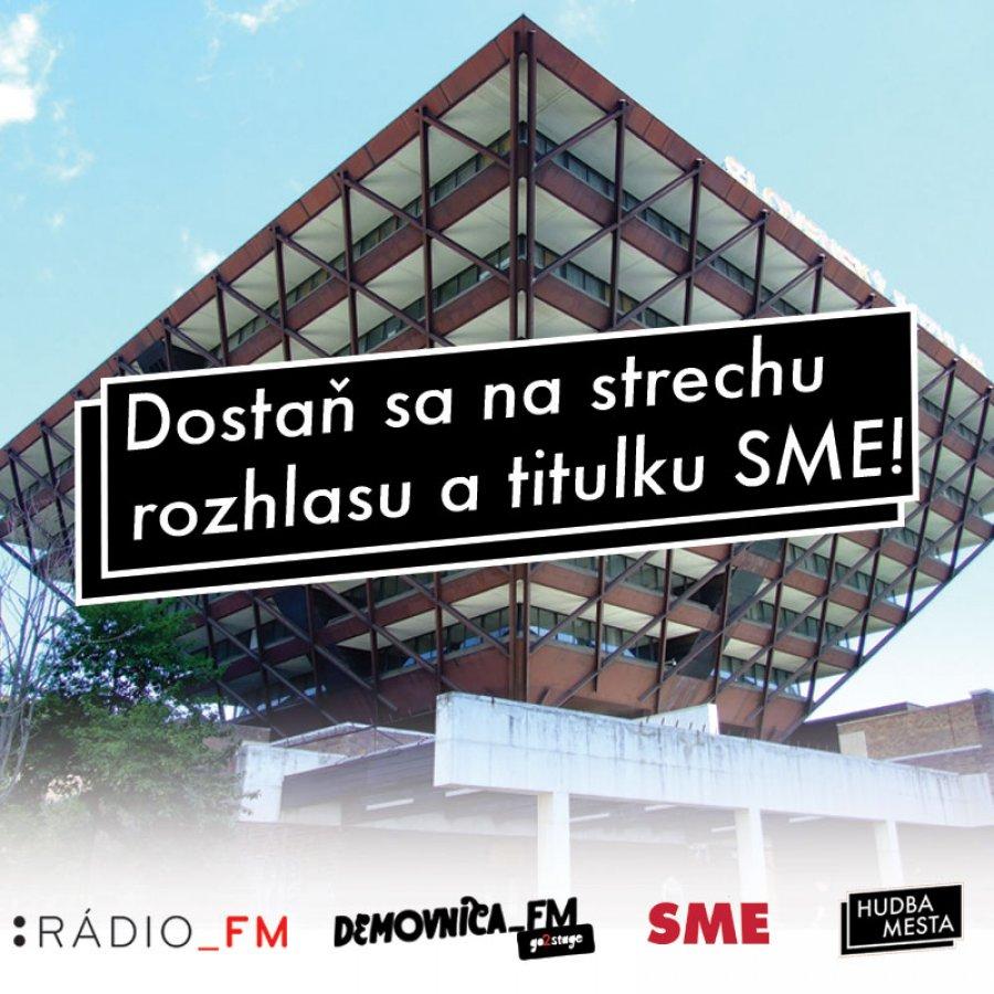 Hudba mesta a Demovnica Rádia_FM pomáhajú slovenským interpretom