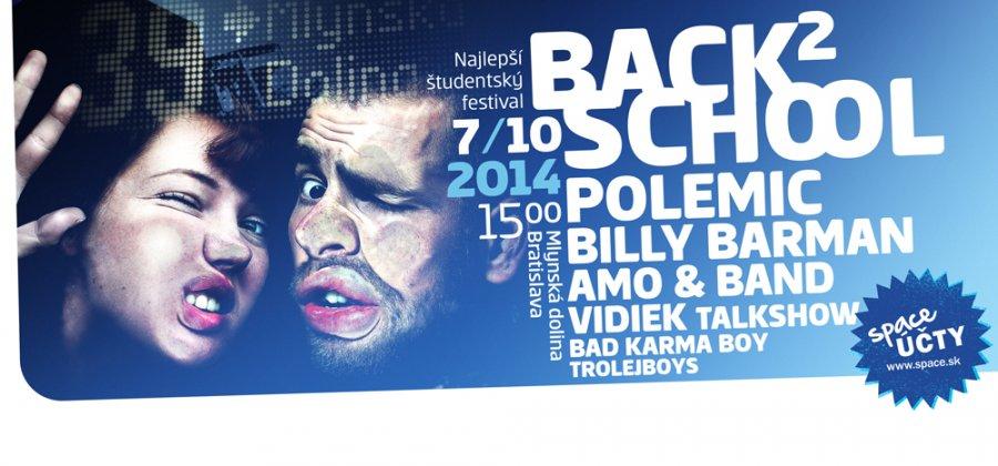 Polemic, Billy Barman a ďalší už zajtra na študentskom festivale Back To School