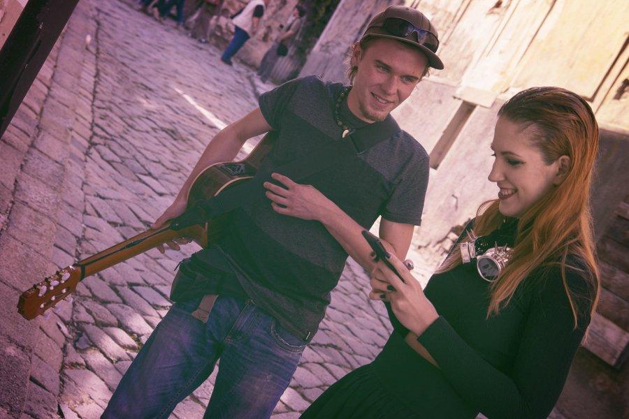 Nový klip Gonsofus z ulíc Bratislavy: Ako sa kreslí hudba