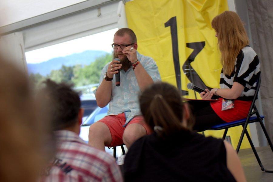 Literárny stan na festivale Pohoda  / Foto: Róbert Jakubička / Ahudba.sk
