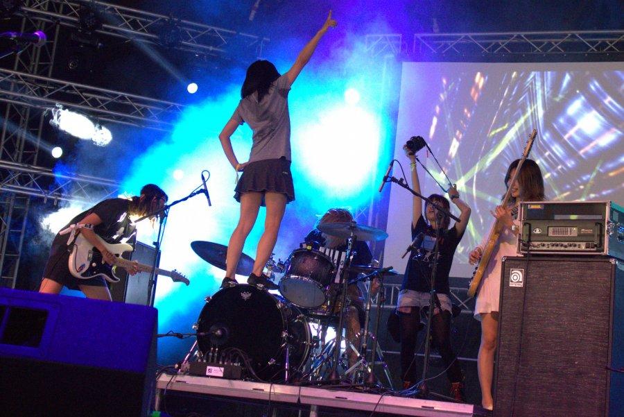 Kapela Tricot, festival Bažant Pohoda 2014  / Foto: Róbert Jakubička / Ahudba.sk