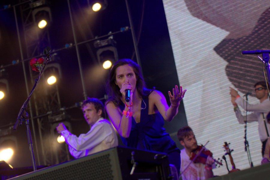 Jana Kirschner, festival Bažant Pohoda 2014  / Foto: Róbert Jakubička / Ahudba.sk