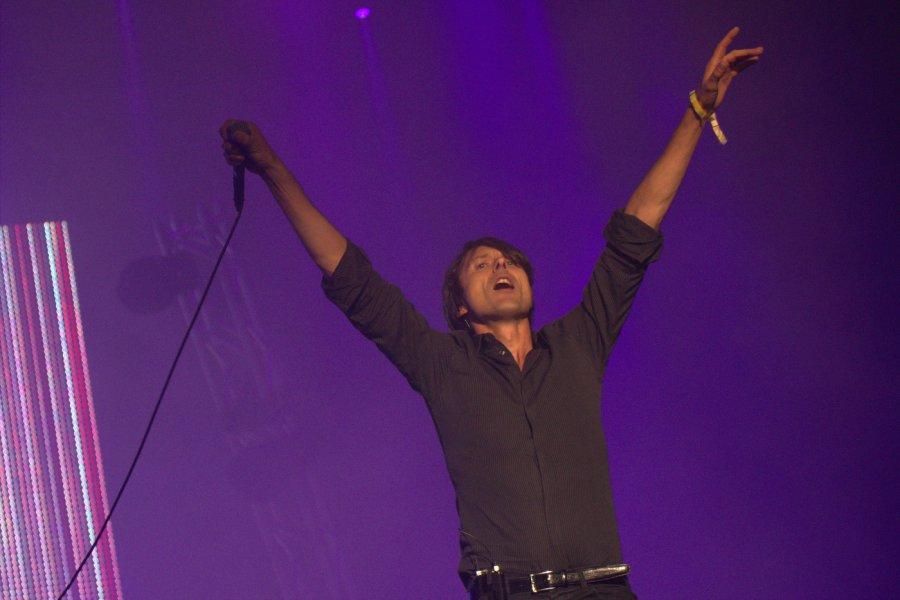 Brett Anderson z kapely Suede, festival Pohoda 2014  / Foto: Róbert Jakubička / Ahudba.sk