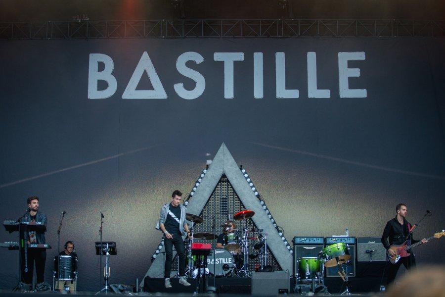 Bastille na festivale Sziget, foto: Szemerey Bence, zdroj:sziget