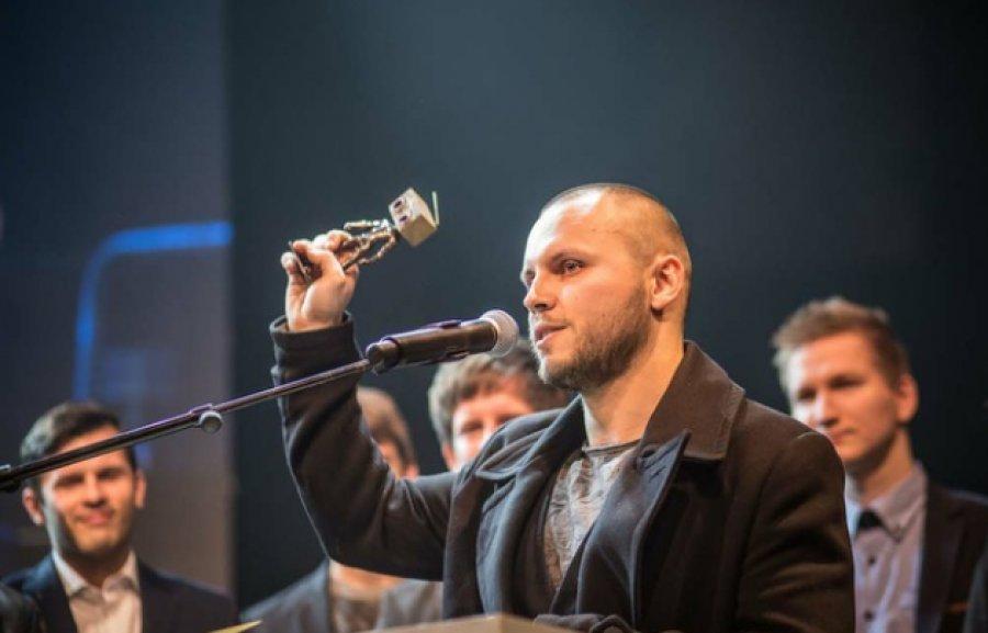 "Frontman skupiny Fallgrapp Juraj ""Jureš"" Líška v SCENE_FM"