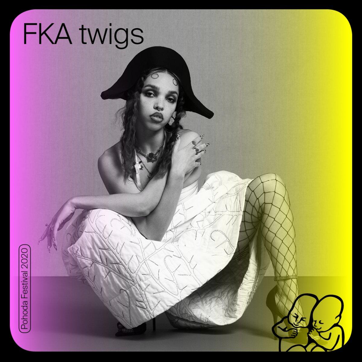 Britská speváčka, skladateľka, producentka a tanečnica FKA Twigs na Pohode 2020