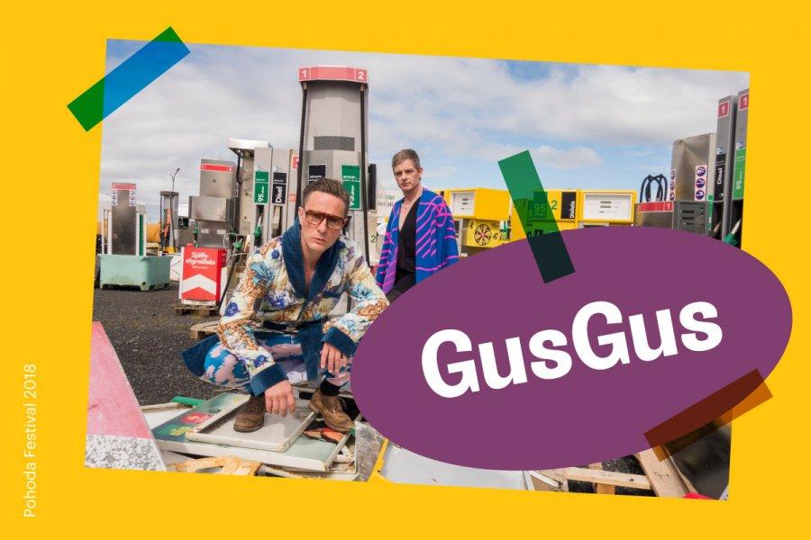 Islanďania GusGus dopĺňajú program festivalu Pohoda 2018