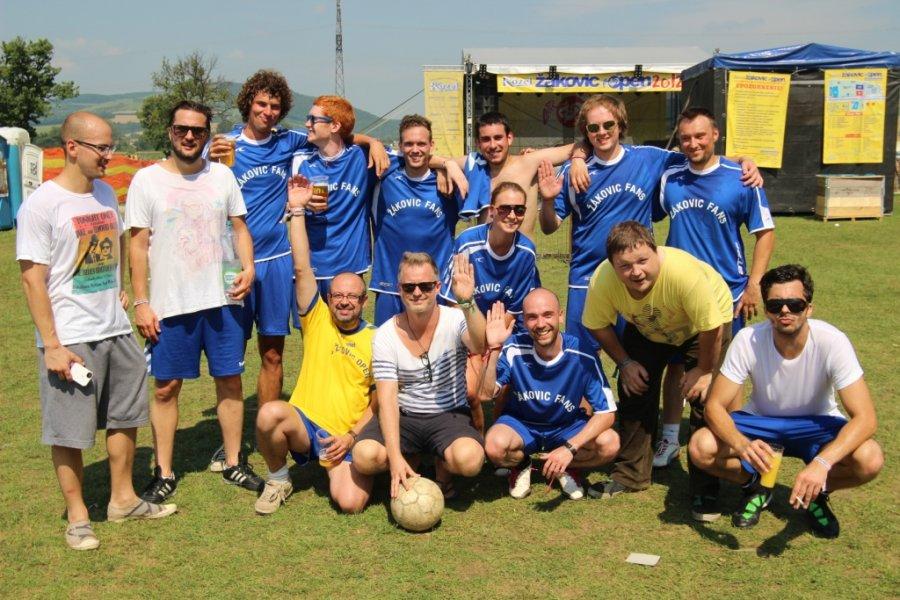 O mesiac vypukne festival Žákovic Open so svetovou raritou - futbalom medzi hudobníkmi a fanúšikmi