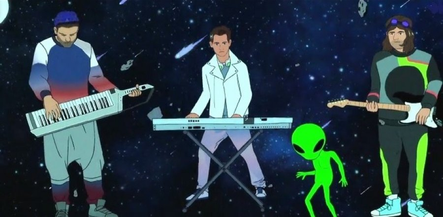 Klaxons predstavili intergalaktické video ku skladbe 'Show Me A Miracle'