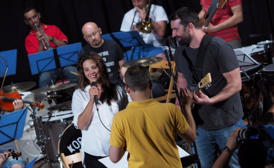 Na festivale Pohoda si kapela Korben Dallas prizvala na pódium Anetu Langerovú