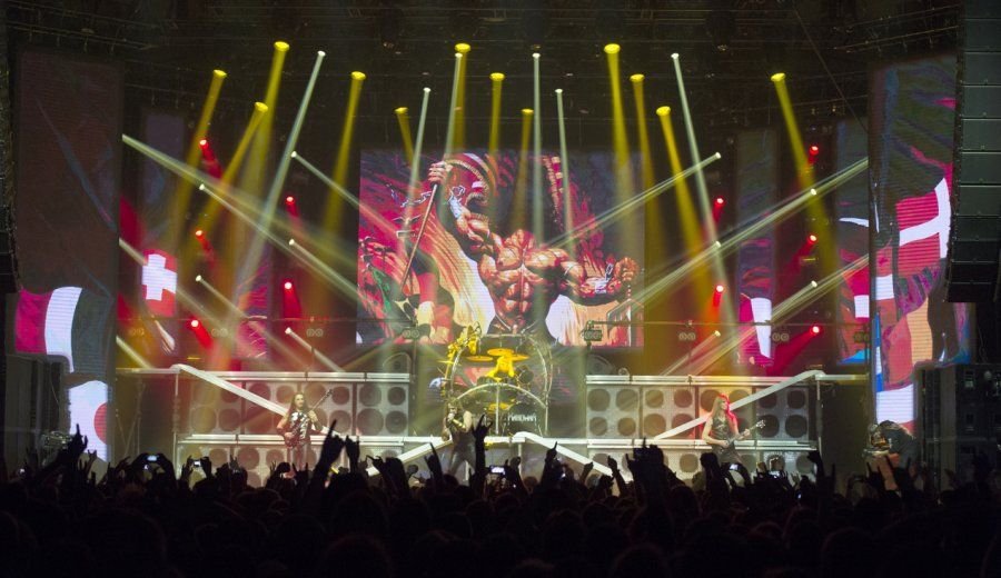 Manowar s turné Gods And Kings World Tour 2016 aj do Bratislavy
