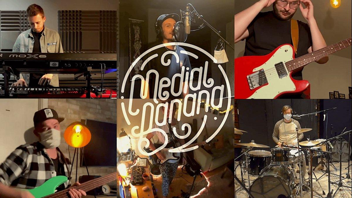 Medial Banana predstavili nový album na online koncerte z karantény