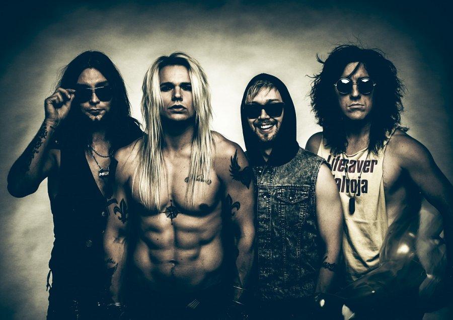 Topfest hlási ďalšie meno – na Slovensku po prvý raz vystúpi glam metalová kapela zFínska Reckless Love