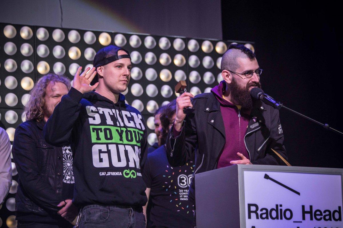 Pozrite si zoznam víťazov Rádiohláv za rok 2018