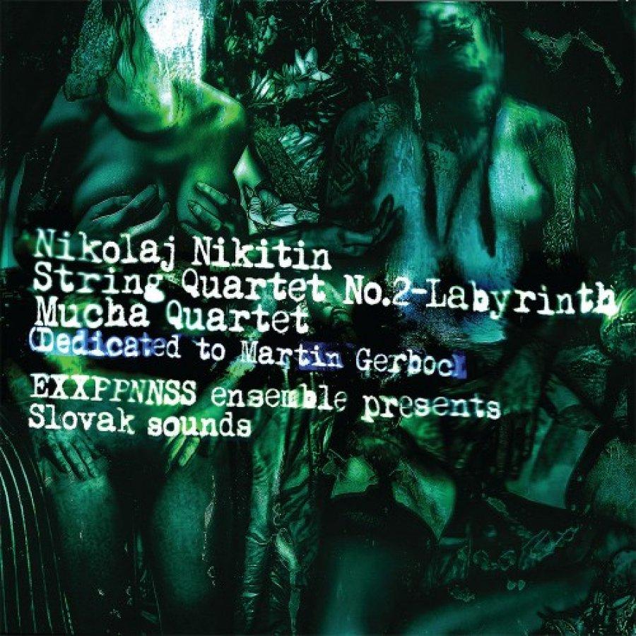 Nikolaj Nikitin, EXXPPNNSS ensemble aMartin Gerboc pokrstia 16. februára album Slovak sounds