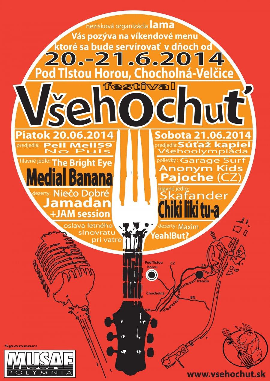 Osláv letný slnovrat na festivale Všehochuť - festival plný chutnej hudby v magickej prírode!